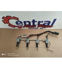 Bico Injetor Do Chevrolet Sonic 1.6 16v Ecotec 2012/13 14